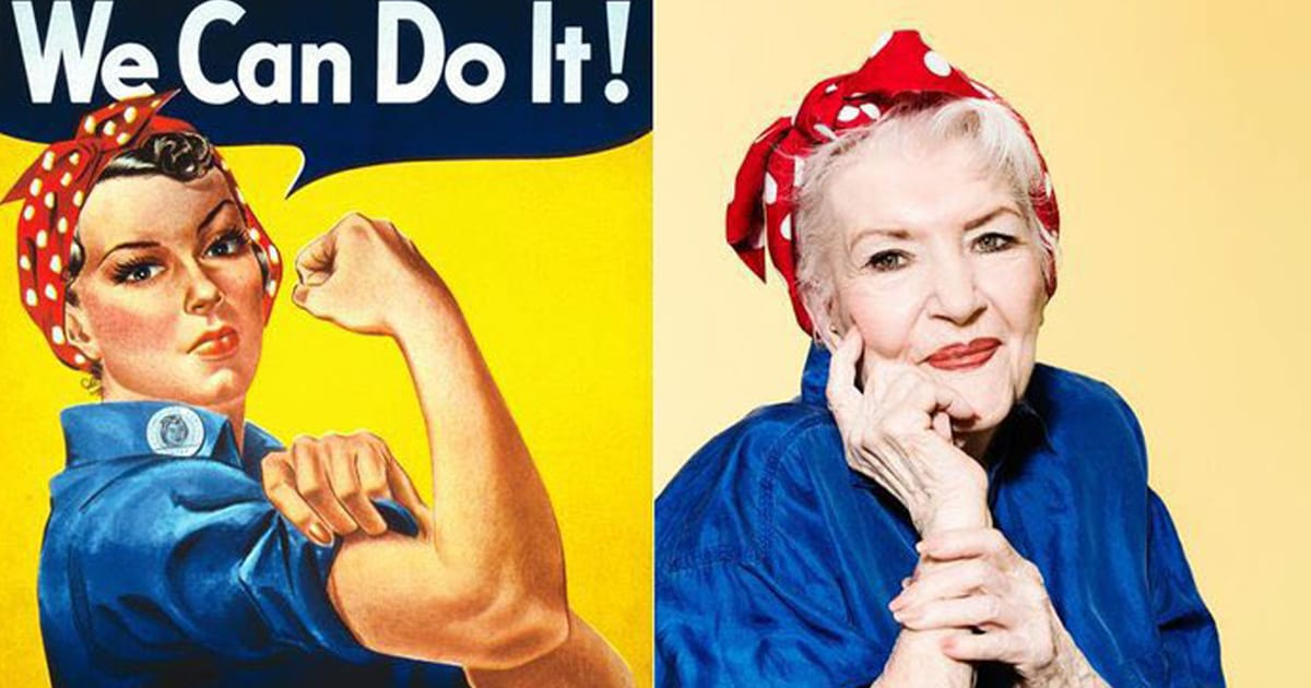 People Are Paying Tribute To Real-Life Inspiration For Rosie The Riveter