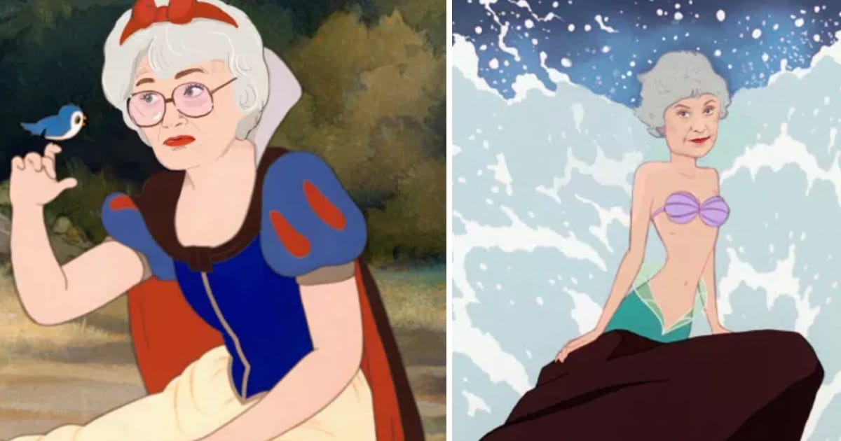 Genius Reimagines The Golden Girls As Disney Princesses
